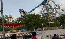 Horrific ride collapse in Ahmedabad amusement park; 3 dead