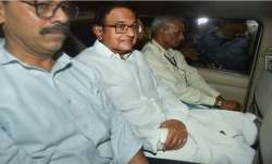 P Chidambaram arrested Wednesday night/PTI
