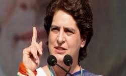 Priyanka: RSS motive behind the debate on quotas dangerous