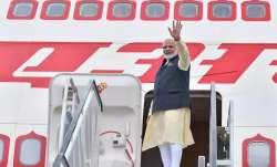 PM Modi leaves for New York to address UNGA