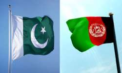 Pakistan and Afghanistan flags
