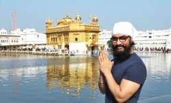 Aamir Khan visits Golden Temple in Amritsar amidst Laal Singh Chaddha shoot