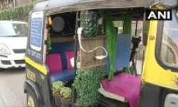 The auto-rickshaw driver goes by the name Satyawan Gite,