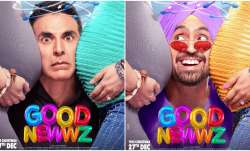 Good Newwz Posters: Akshay Kumar, Diljit Dosanjh squeeze in between baby-bumps of Kareena and Kiara