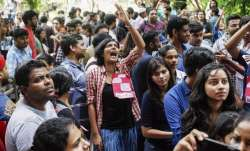 JNU student protests