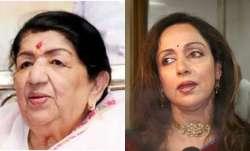 Lata Mangeshkar Latest News:Hema Malini prays for Lata Mangeshkar, Lata Mangeshkar Hospitalised Crit