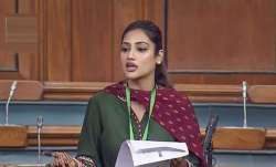 Nusrat Jahan in ICU, family dismisses 'rumours' (Lead)