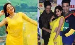 Janhvi Kapoor recreates mom Sridevi's Chandni look