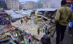 6-story building collapses in Nairobi, many feared trapped