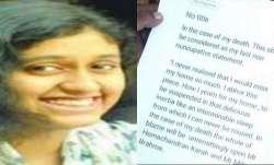 Tamil Nadu government transfers Fathima Latheef suicide case to CBI