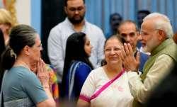PM Modi, Sonia Gandhi/File Image