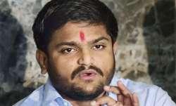 A file photo of Congress leader Hardik Patel