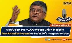 Including Ahmadiyyas would trigger reaction: Ravi Shankar Prasad on CAA