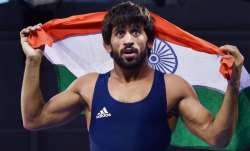 Bajrang Punia assured of seeding at Olympics, placed 2nd in latest world rankings