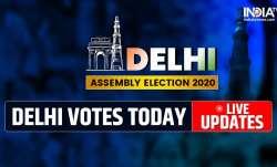 Delhi election 2020 live updates, Delhi polls, AAP, BJP, Congress, Kejriwal, Manoj Tiwari