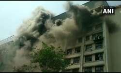 Mumbai: Level III fire breaks out in GST Bhavan in Mazgaon