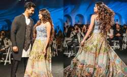 Vicky Kaushal and Janhvi Kapoor walked the ramp for