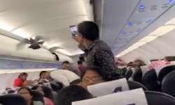 Pigeon, Go Air flight, Ahmedabad Jaipur Go Air flight, Ahmedabad Airport