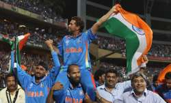 Still get goosebumps thinking about 2011 World Cup win: Sachin Tendulkar