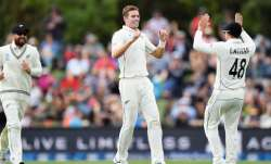 Live Score India vs New Zealand, 2nd Test Day 1: Southee removes Rahane and Kohli to put India on ba