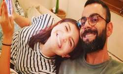 Virat Kohli shares photos of him and Anushka Sharma