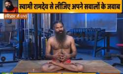 Weight gain to core strength: Swami Ramdev shows yoga asanas to achieve fit body and mind