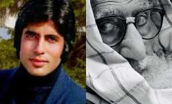 Amitabh Bachchan shares thoughtful post with then and now photo from Kabhi Kabhie, Gulabo Sitabo set