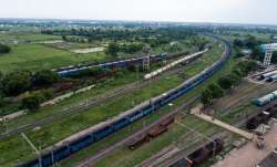 The record 2.8 km long freight train was successfully operated by the Railways.