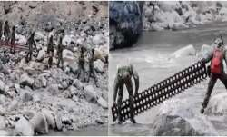 Photos show Chinese troops withdraw from Galwan Valley's