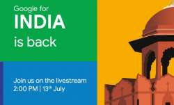 google, google for india, google for india event, google for india 2020, how to watch google for ind