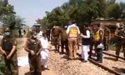 Bus carrying Sikh pilgrims hit by train in Punjab; 19 killed