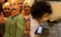Akshay Kumar reacts to video of TV actor Ravi Dubey's nephew singing Bala