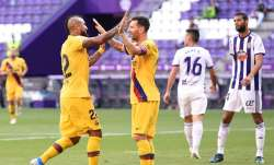 La Liga: Arturo Vidal keeps Barcelona in title fight with 1-0 win over Valladolid