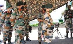 Army Chief visits India-Pakistan border, review security preparedness