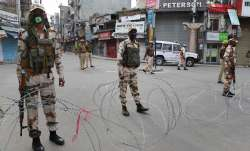 Encounter between militants and security forces in J-K's Baramulla