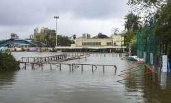 Mumbai: Islam Gym Ground is submerged due to heavy