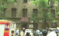 Mumbai exchange building fire