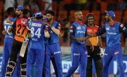 Delhi Capitals vs Sunriers Hyderabad