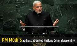 PM Modi to address the 75th session of United Nations