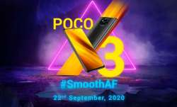 poco, poco smartphones, poco x3, poco x3 launch, poco x3 launch in india, poco x3 launch in india