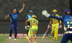 Live Cricket Score Chennai Super Kings vs Mumbai Indians: