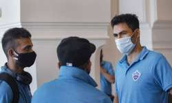 DC's assistant coach Mohammad Kaif