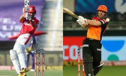 Live Cricket Score Kings XI Punjab vs Sunrisers Hyderabad: KXIP, SRH fight for survival in top-4 rac