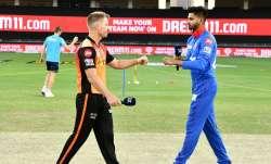 Live Score Sunrisers Hyderabad vs Delhi Capitals IPL 2020: Iyer opts to bowl against SRH