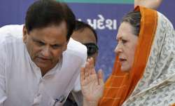Lost an irreplaceable comrade': Sonia Gandhi on Ahmed Patel's demise