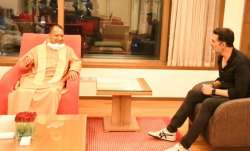 Akshay Kumar meets UP Chief Minister Yogi Adityanath in Mumbai
