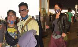 Aamir Khan and wife Kiran Rao ira khan azad photos