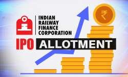 irfc ipo allotment, irfc share listing