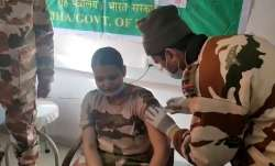 Leh: ITBP personnel among first Covid-19 vaccine recipients