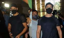 Hrithik Roshan arrives to record statement against Kangana Ranaut